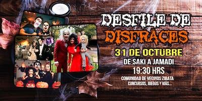 DESFILE DE DISFRACES COMUNIDAD ZIBATÁ