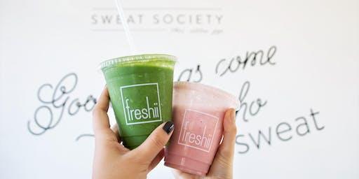Fitspo + Freshii by Sweat Society