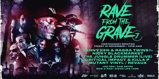 Rave From The Grave - Hootananny Halloween