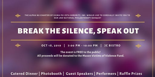 Break the Silence, Speak Out
