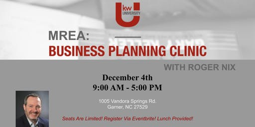 MREA: Business Planning Clinic