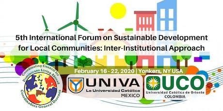 International Forum on Local Sustainable Development tickets