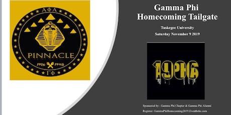 Gamma Phi Homecoming tickets