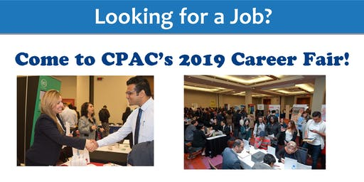 Looking for a job? Meet employers for 300+ jobs at CPAC's 2019 Career Fair!