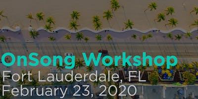 OnSong Training Workshop- Fort Lauderdale, Florida