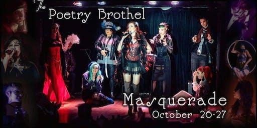 The Poetry Brothel LA Masquerade SUNDAY NIGHT!