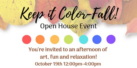 Keep it Color-Fall Open House Event tickets