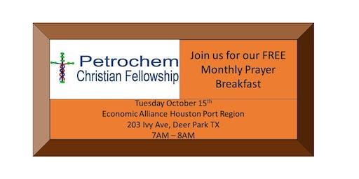 Petrochem Christian Fellowship Breakfast October 15th 2019