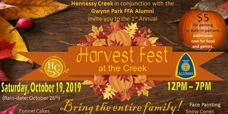Harvest Fest At The Creek tickets