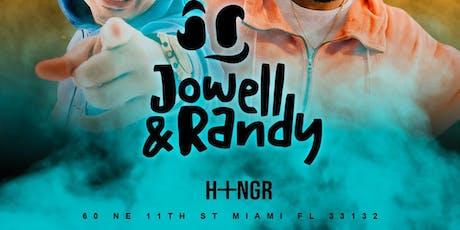 Jowell y Randy en Concierto at Hangar Miami Pass before 1:00 am tickets
