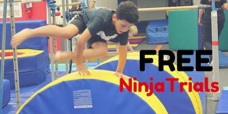 Free Week of Ninja Trials tickets