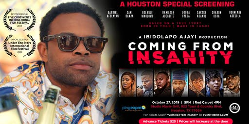 Coming From Insanity - Houston Special Screening