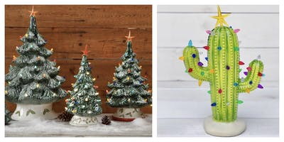 Ceramic Christmas Tree Workshop