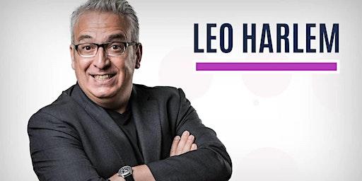 LEO HARLEM presenta DEJE QUE TE CUENTE en el Auditorio Mar de Vigo