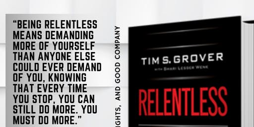 Book Club Mastermind: Relentless: From Good to Great to Unstoppable