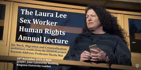 The Laura Lee Sex Worker Human Rights Annual Lecture 2019 tickets