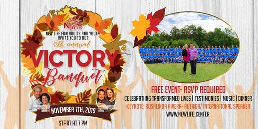 New Life For Adults and Youth Victory Banquet