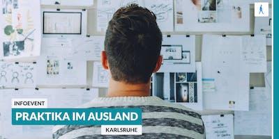 Ab ins Ausland: Infoevent zu Praktika im Ausland | Karlsruhe