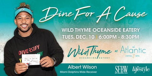 Dine For A Cause!