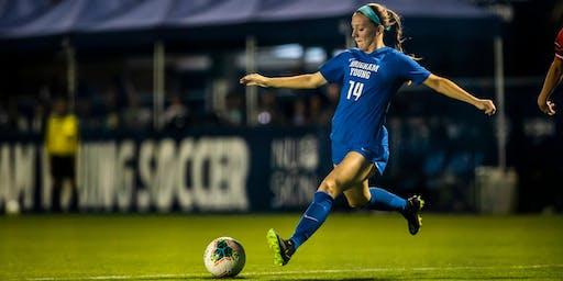 #4 BYU Women's Soccer @ Portland