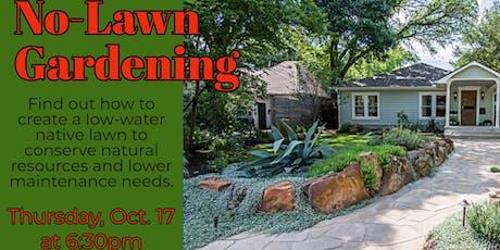 No-Lawn Gardening Strategies with Travis County Master Gardeners tickets