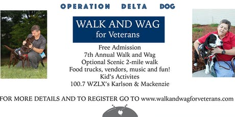 Walk and Wag for Veterans tickets