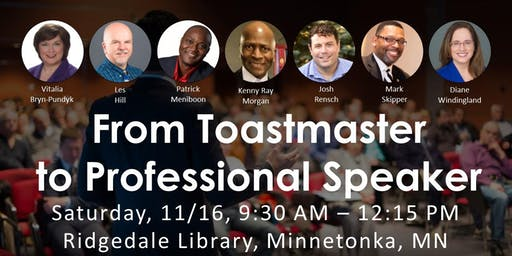 From Toastmaster to Professional Speaker