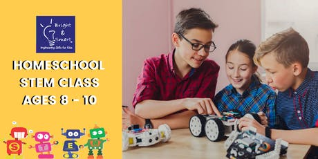 Homeschool STEM Class - Starter Robotics Q1 Ages . 8-10 tickets