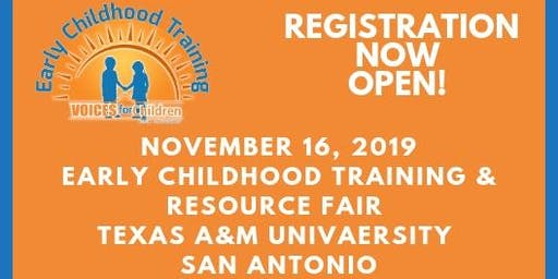 District 3 Early Childhood Training & Resource Fair