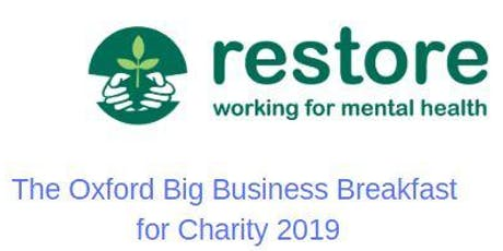 The Oxford Big Business Breakfast for Charity - 6 December tickets