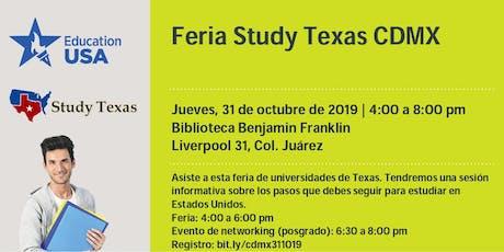 Feria Study Texas CDMX entradas