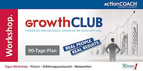 GrowthCLUB - 90-Tage-Plan billets