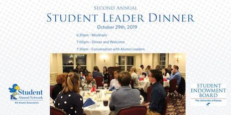 Student Leader Dinner tickets
