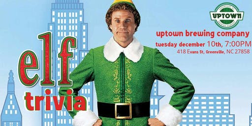 Elf Trivia at Uptown Brewing Company