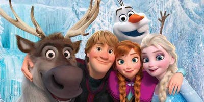 Holiday Snapshots with Frozen's Elsa and Kristoff