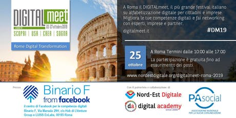 DIGITALmeet - Rome Digital Transformation tickets