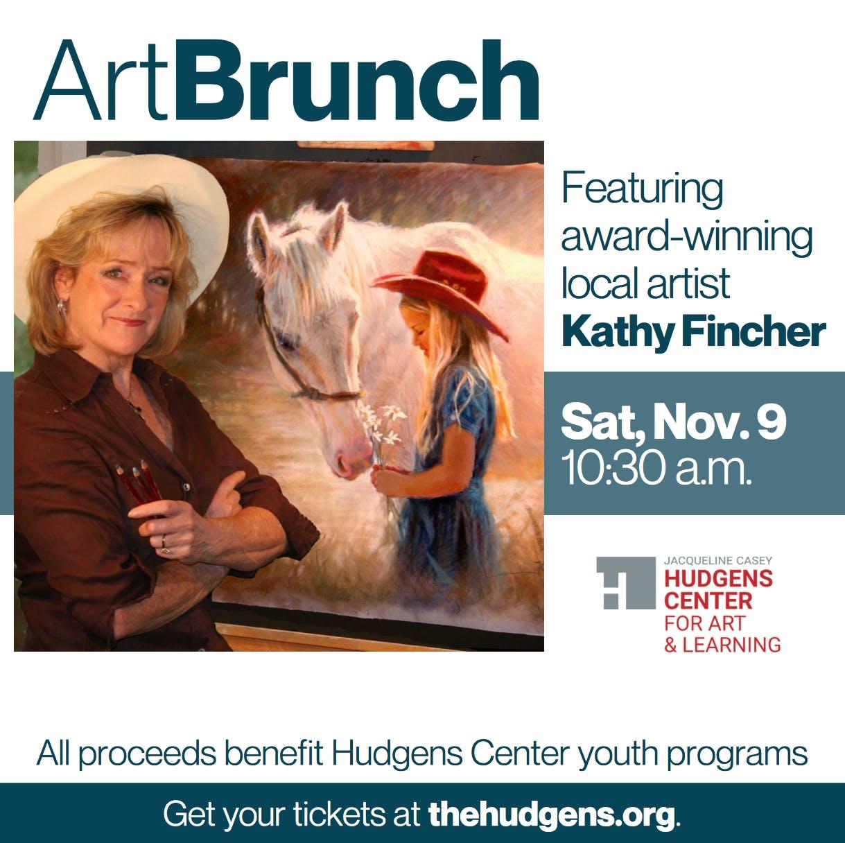 Brunch with Artist Kathy Fincher