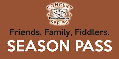 SEASON PASS - Tennessee Valley Old Time Fiddlers Concert Series 2020