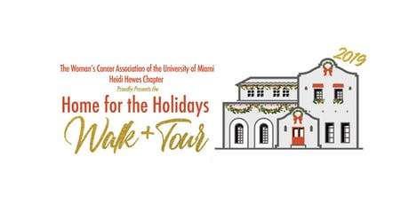 28th Annual Home for the Holidays Walk & Tour Featuring a Holiday Market tickets