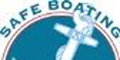 Boating Safety Certification (aka License) Class - Brianna's Law tickets