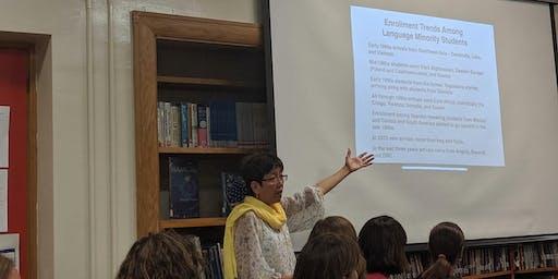 Grace Valenzuela presentation to the Lyseth Elementary PTA