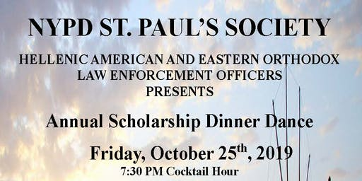 NYPD Guardian Member Tickets to NYPD St Paul's Society 2019 Dinner Dance