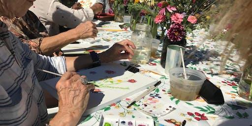 Joslin Garden: Annelies Gentile's Art in the Garden Program