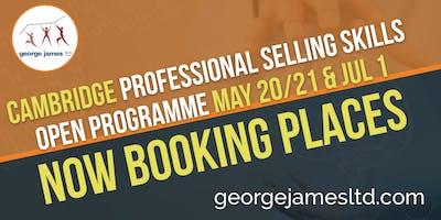Professional Selling Skills Programme - Cambridge - May 20/21 & Jul 1 2020