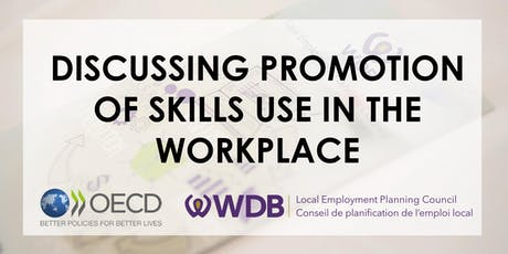 Discussing Promotion of Skills Use in the Workplace—OECD Roundtable tickets