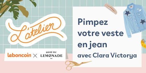 ATELIER / Pimpez votre veste en jean avec Clara Victorya