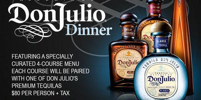 Don Julio Pairing Dinner