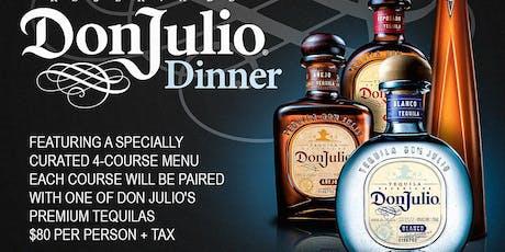 Don Julio Pairing Dinner tickets
