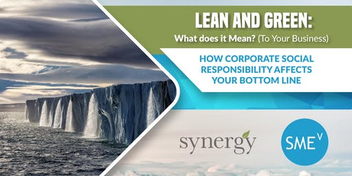 Lean and Green: What does it Mean? (To Your Business)