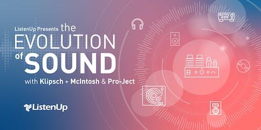 The Evolution of Sound  at ListenUp Denver